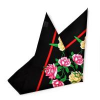 """Бандана """"Красная роза & Белая роза"""""""