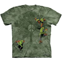 """Футболка The Mountain """"Peace Tree Frog"""" (детская)"""
