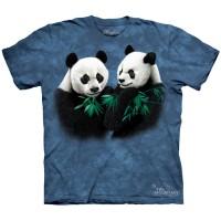 """Футболка The Mountain """"Pandas"""" (детская)"""