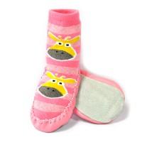 Тапочки для младенцев на коже (2)