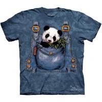 """Футболка The Mountain """"Panda in Overalls"""" (детская)"""