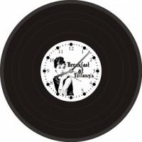 """Часы-пластинка настенные """"Audrey Hepburn"""""""