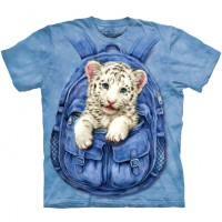 "Футболка ""Backpack White Tiger"" (США)"