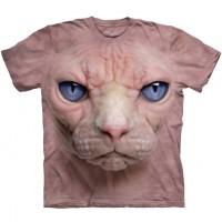 "Футболка ""Hairless Pussycat Face "" (США)"