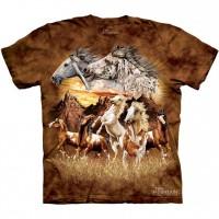 "Футболка The Mountain ""Find 10 Horses"" (детская)"