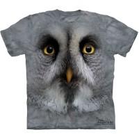 "Футболка The Mountain ""Great Grey Owl Face"" (детская)"
