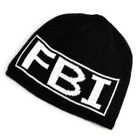Шапка вязаная подростковая (FBI)