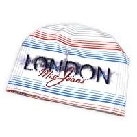 """Шапка женская со стразами """"London"""" (white)"""
