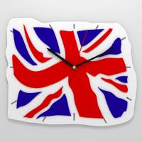 "Часы 3D настенные ""Британский флаг"""