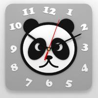 """Часы 3D настенные """"Панда"""""""
