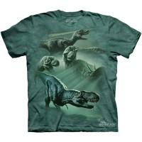 "Футболка The Mountain ""Dinosaur Collage"" (детская)"