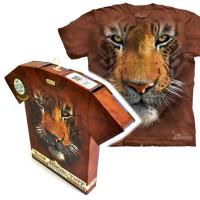 """Футболка в подарочной коробке The Mountain """"Tiger Face"""""""