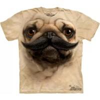"Футболка ""Big Face Pug Stache"" (США)"
