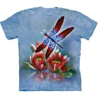 "Футболка ""Star Spangled Dragonfly"" (США)"