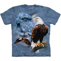 "Футболка ""Faded Flag and Eagles"" (США)"