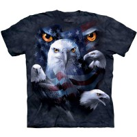 "Футболка ""Patriotic Moon Eyes Eagle"" (США)"
