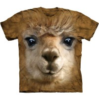 "Футболка ""Big Face Alpaca""  (США)"