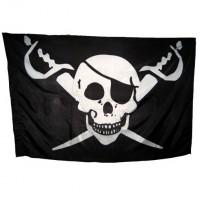 Пиратский флаг Калико Джека -2