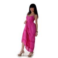 Сарафан длинный (pink) -57