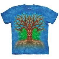 """Футболка """"Tie Dye Tree"""" (США)"""