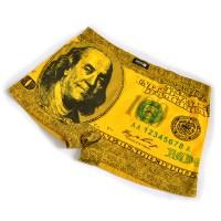 """Трусы мужские """"100 долларов"""" (yellow)"""