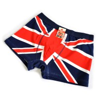 """Трусы мужские """"Британский флаг"""" (blue)"""