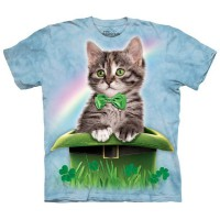 "Футболка ""Irish Hat Kitten"" (США)"