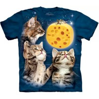 "Футболка ""Three Kitten Cheese Moon"" (США)"