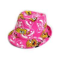 """Шляпа женская, детская """"Sponge Bob"""" (pink)"""