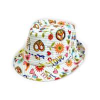 "Шляпа женская, детская ""Peace & Love"""