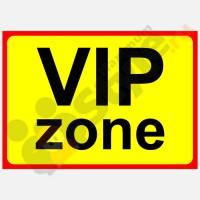 """Табличка на дверь """"VIP-zone"""""""