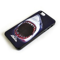 "Чехол для iPhone 5/5s ""Shark Bite (black)"""
