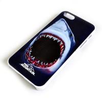 "Чехол для iPhone 5/5s ""Shark Bite (white)"""