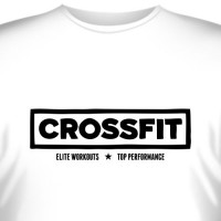 "Футболка ""Crossfit Elite Workouts"""