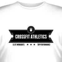 "Футболка ""Crossfit Athletics Elite Workouts"""