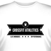 """Футболка """"Crossfit Athletics Elite Workouts"""""""