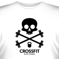 "Футболка ""Crossfit Elite Fitness (2)"""