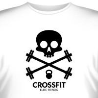 """Футболка """"Crossfit Elite Fitness (2)"""""""