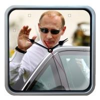 """Часы настенные """"Привет от Путина"""""""