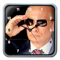 """Часы настенные """"Путин В.В."""" (2)"""