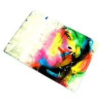 """Обложка для автодокументов """"Девушка-радуга"""""""