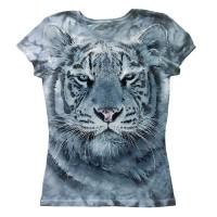 "Футболка женская ""Белый тигр"""