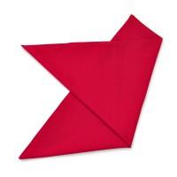 Бандана красная, хлопковая (без изображения)