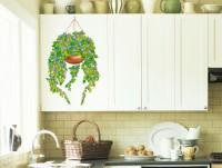 """Наклейка на стену """"Цветы Семирамиды"""""""