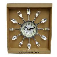 """Часы на стену """"Вилки-ложки"""""""