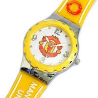 """Часы футбольные """"Manchester United"""""""