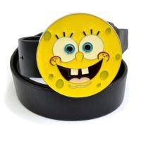 """Ремень с бляхой """"Sponge Bob"""" (круглый)"""