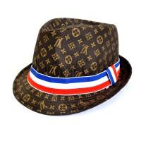 """Шляпа мужская """"LV"""" -01"""