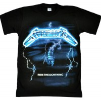 "Футболка ""Metallica"" (Ride the Lightning)"