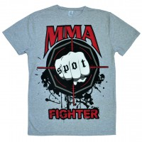 "Футболка ""MMA Fighting"" (gray)"